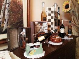 ロヴェロ家のワイン棚
