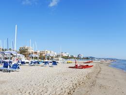 アドリア海沿岸のビーチ