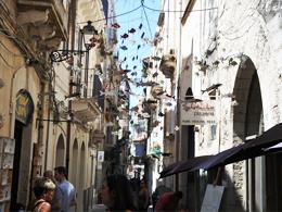 シチリアの街中