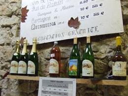 ベリュウ家のワイン棚