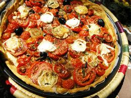 トマトのタルト