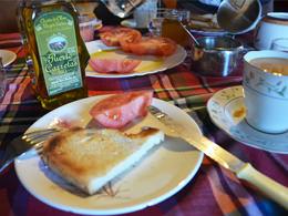 スペインの朝食
