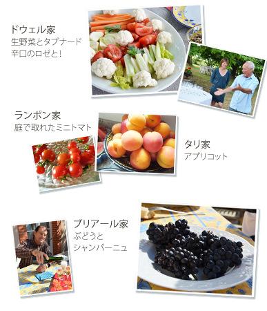アペリティフ画像生野菜