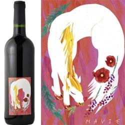 創立22周年記念の赤ワイン画像