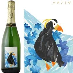 創立22周年記念のスパークリングワイン画像
