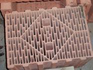 断熱性の高いレンガ断面図